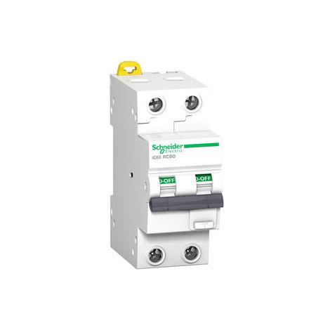 Schneider FI/LS-Schalter iC60H, 2P, 16A, B-Char., 30mA, Typ A, 10kA