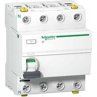 SCHNEIDER FI-SCHALTER 4P 40A 30MA TYP A A9Z21440 SCHNEIDER ELECTRIC