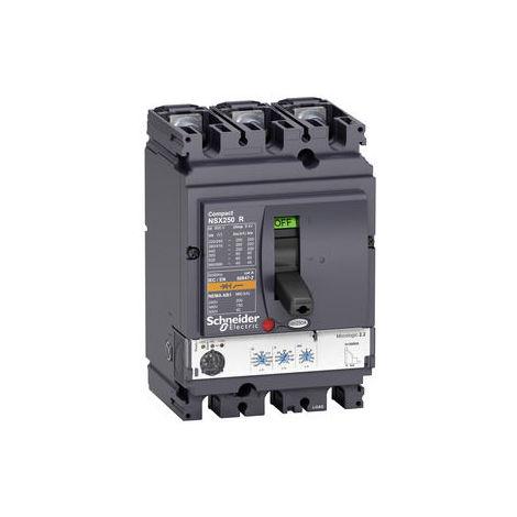 Schneider Leistungsschalter ComPact NSX250R - Micrologic 2.2 - 250 A - 3P 3d