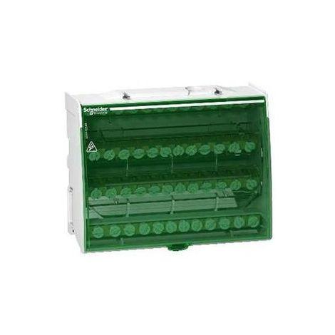 Schneider LGY412548 Répartiteur tétrapolaire 125A 4x12 trous