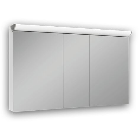 Schneider mirror cabinet FACELine 150 / 3 / LED 152.250., execution: EU standard with handles - 152.250.02.50