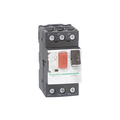 Schneider Motorschutzschalter GV2-ME, 1-1,6A, 3p 3d, thermomagnetischer Auslöser
