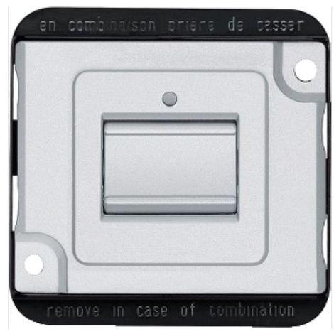 Schneider MTN3106-7060 de nuevo interruptor de la luz y hacia delante de vandalismo