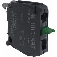 Schneider ZENL1111 Single Contact Block for Head of XAL/XAP5 Series