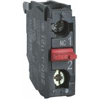 Schneider ZENL1121 1NC Single Contact Block for Head of XAL/XAP5 Series