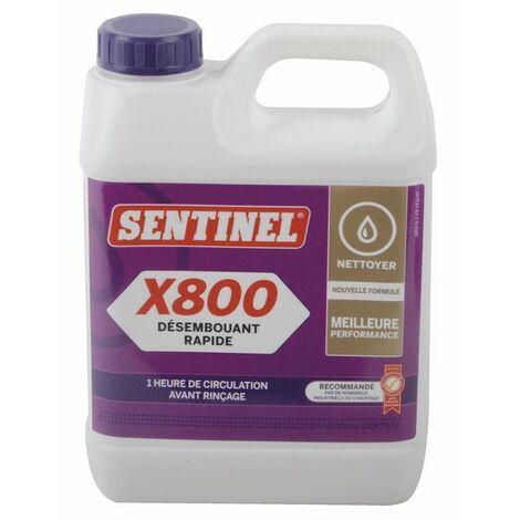 Schneller Entschlammer X800 - Kanister 1 Liter - SENTINEL: X800