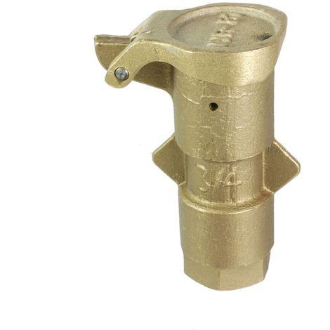 Schnellkupplungshydrant, Messing, ¾ - 1½ Zoll IG