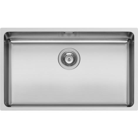 Schock Lavello cucina grigio 1 vasca senza gocciolatoio incasso Mono FN100XL
