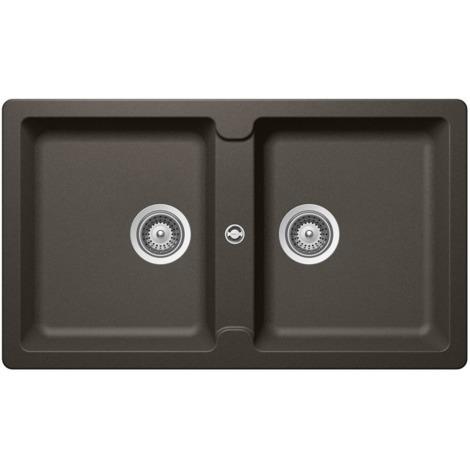 Lavello Cucina 2 Vasche Senza Gocciolatoio.Schock Lavello Cucina Incasso 2 Vasche Senza Gocciolatoio Primus N200eap43