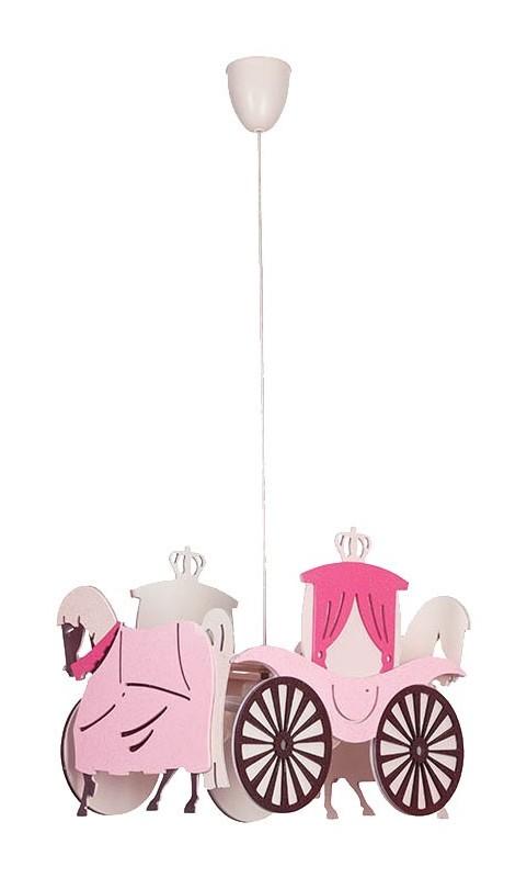 Jens Stolte Leuchten - Princess- Kutsche Pendelleuchte Kinderzimmer Hängelampe Lampe