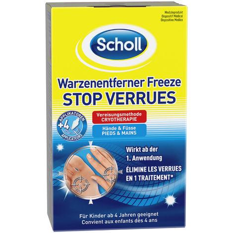 Scholl Freeze Warzen-Entferner für Hände & Füße Warzenentfernung Vereisung 80ml