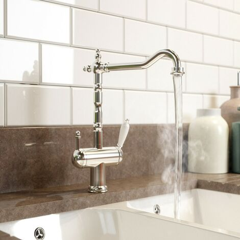 """main image of """"Schon Ramsey traditional chrome 4 in 1 boiling water kitchen tap"""""""