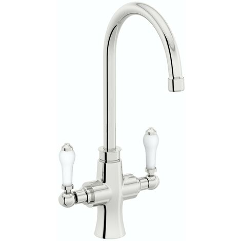 Schon traditional kitchen tap