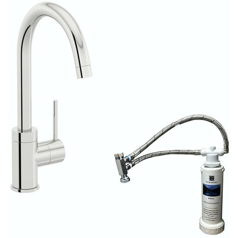 Schon WRAS kitchen mixer tap with complete filter kit