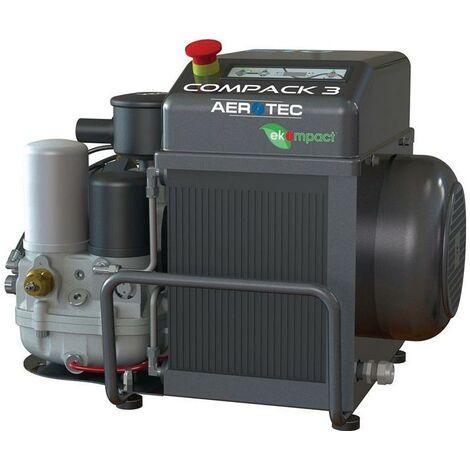 Schraubenkompressor Aerotec COMPACK 3 10 bar 360 l/min 400 V50 Hz 3 kW