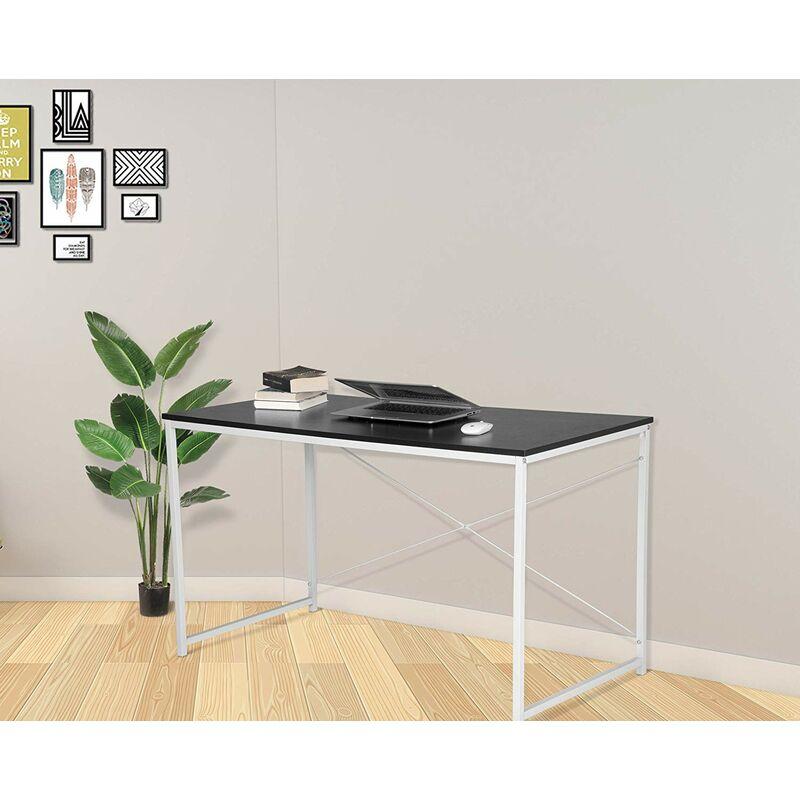 Mercatoxl - Schreibtisch Computertisch Büromöbel PC Tisch schwarz