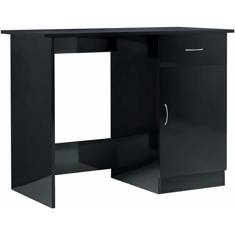 Schreibtisch Hochglanz Schwarz 2021