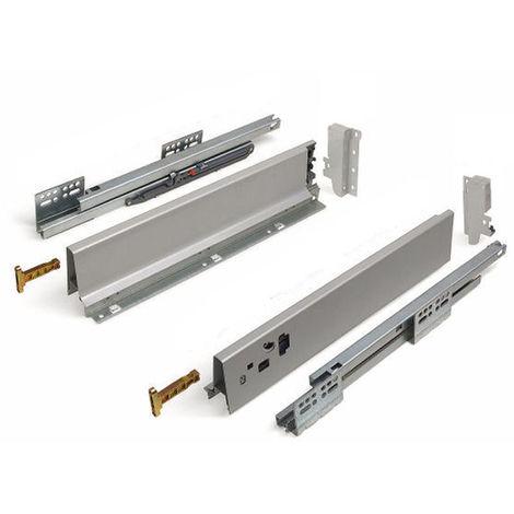 Schubladensystem Modern Box Zargenhöhe 84 mm Nennlänge 500 mm Soft-Close weiß