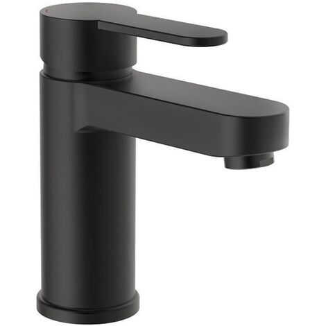 SCHÜTTE Basin Mixer ELEPHANT Matt Black - Black