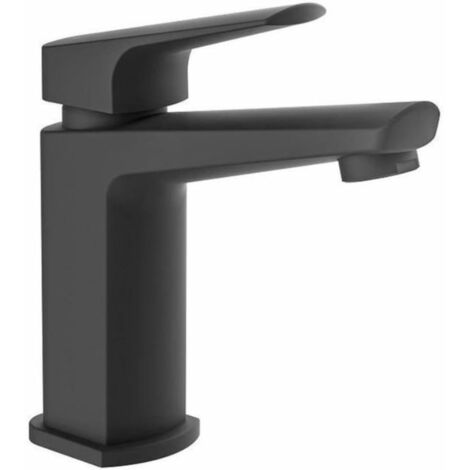 SCHÜTTE Basin Mixer RAVEN Matt Black