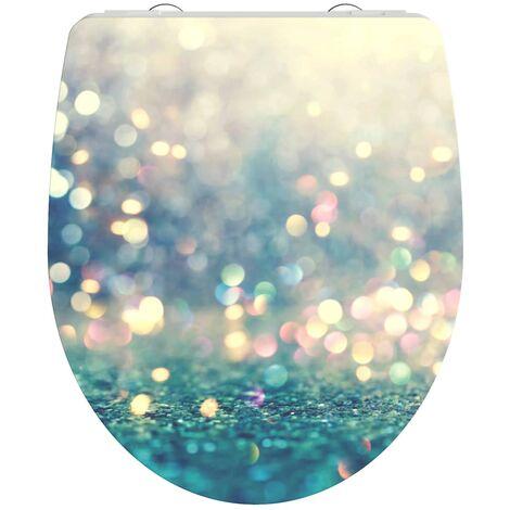 SCHÜTTE Duroplast High Gloss Toilet Seat with Soft-Close MAGIC LIGHT - Multicolour
