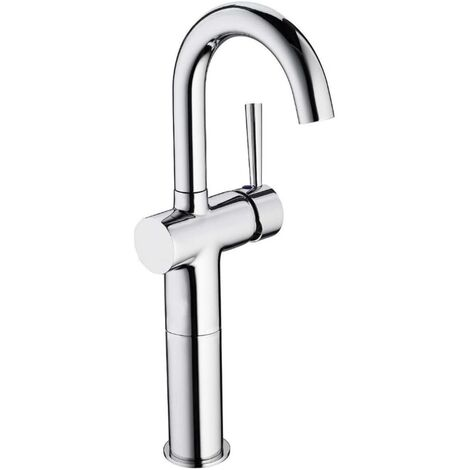 SCHÜTTE High Basin Mixer CORNWALL 168mm Chrome