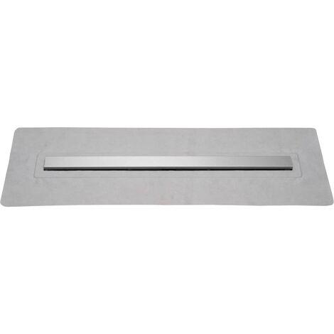 SCHÜTTE Shower Floor Drain with Stainless Steel Cover 70 cm
