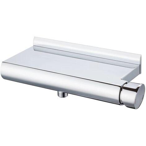 SCHÜTTE Shower Mixer with Shelf SHOWERSTAR - Silver