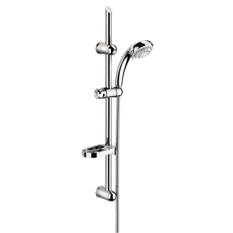 SCHÜTTE Shower Rail Set FRESH Chrome - Silver