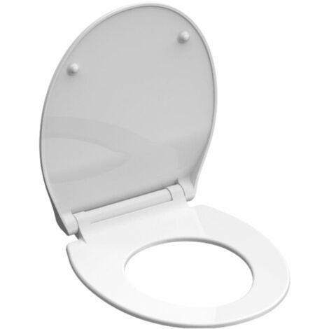 SCHÜTTE Siège de toilette SLIM WHITE Duroplast