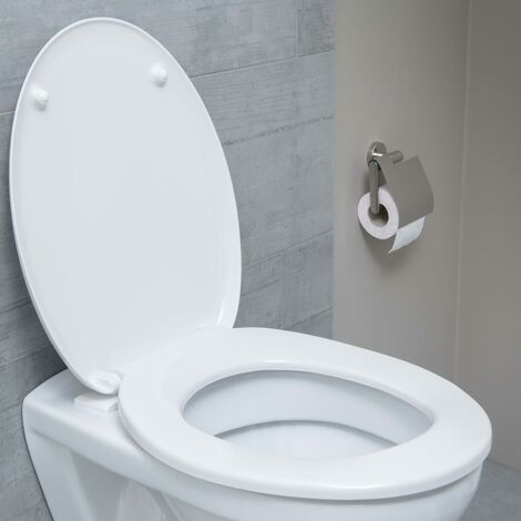 SCHÜTTE Siège de toilette WHITE Duroplast