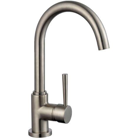 SCHÜTTE Sink Mixer CORNWALL Stainless Steel