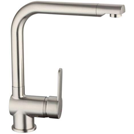 SCHÜTTE Sink Mixer RIO Stainless Steel