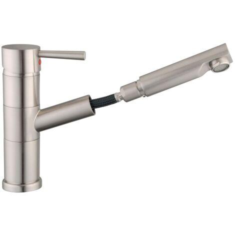 SCHÜTTE Sink Mixer UNICORN Stainless Steel Colour