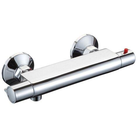SCHÜTTE Thermostatische Dusche-Mischbatterie VICO Verchromt
