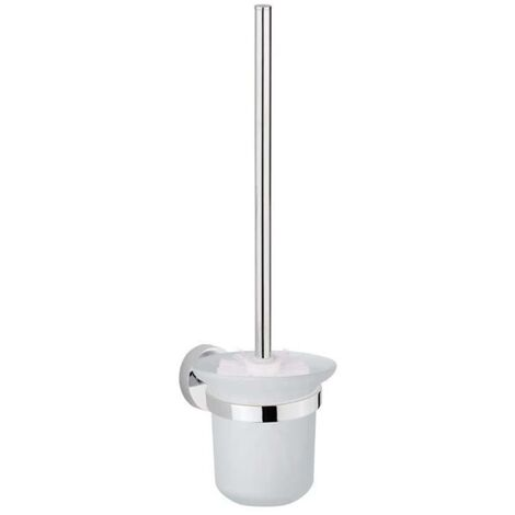 SCHÜTTE Toilet Brush Set LONDON Chrome