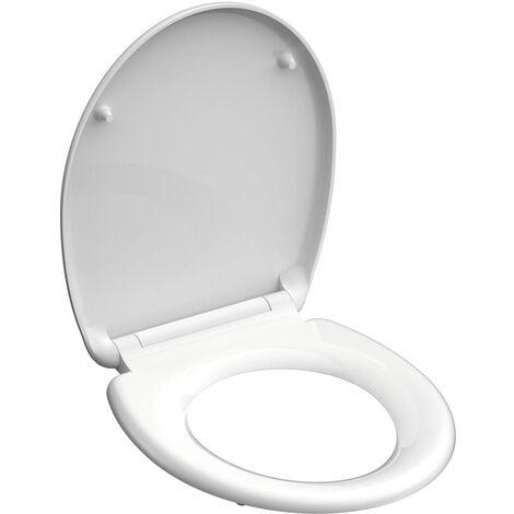 SCHÜTTE Toilettensitz WHITE Duroplast