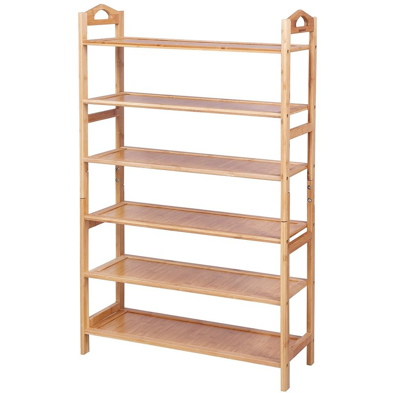 Fabulous Schuhregal Schrank Holzregale Bambus Regal Bücherregal für 20 Paar FB22
