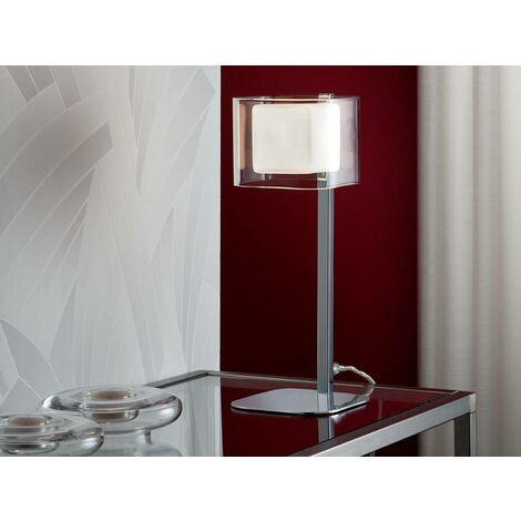 Schuller Cube - Table Lamp Chrome Glass, G9