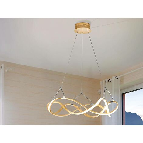 Schuller Molly - Integrated LED Ceiling Pendant Gold
