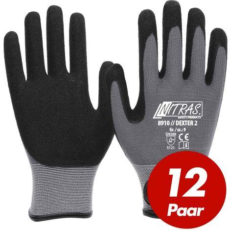 Handschuhe Keiler TEC Größe 9 schwarz//weiß