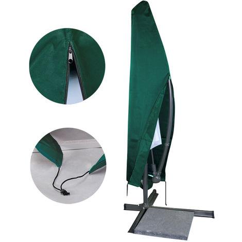 Schutzhülle Ampelschirm Wetterschutzhülle Abdeckhaube SchutzhaubeSonnenschirm Abdeckplane 100x70x43cm