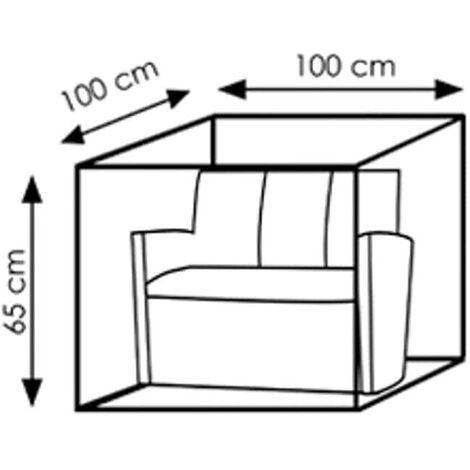 Schutzhülle Deluxe Lounge,ca.100x100x65 - 79340K