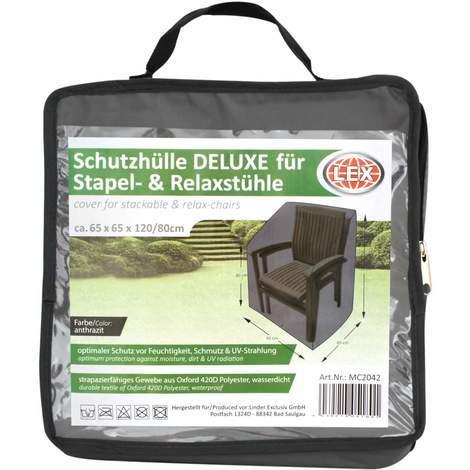 und Relaxstühle Polyester Oxford 420D Abdeckhaube Deluxe für 4-6 Stapel