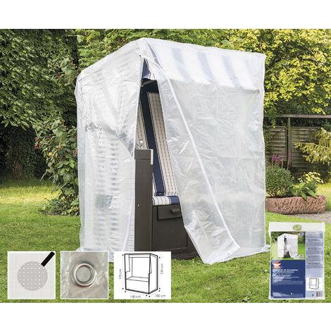 Schutzhüllen für Gartenmöbel transparent