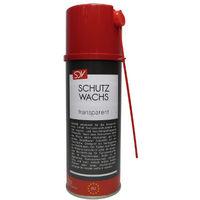 SCHUTZWACHS Spray 400ml transparent Sprühwachs Karosserie Unterbodenschutz