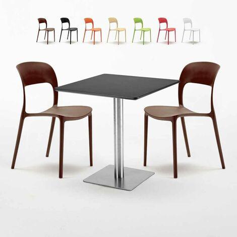 Tisch 70 x 70 Gartentisch eckig Akazienholz Holztisch  NEU !!