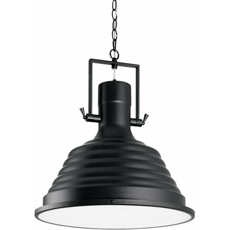 Schwarze Pendelleuchte FISHERMAN 1 Glühbirne