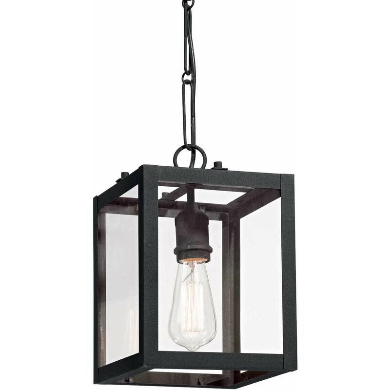 Schwarze Pendelleuchte IGOR 1 Glühbirne - 01-IDEAL LUX