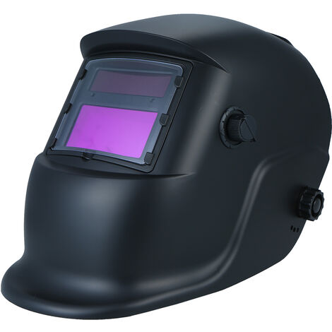 Schwei?helm Solar-Auto Verdunkelung Helm Schutzschild mit variabler Schatten eines DIN9 DIN13 Geeignet fur Tig Mig Arc Spot-Micro Fil AC-DC-Plasma-Schwei?er / Cup